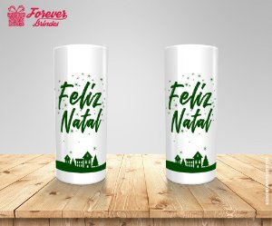 Copo Long Drink Feliz Natal