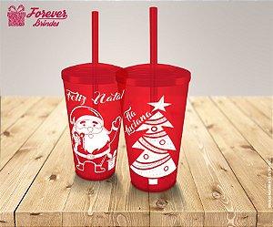 Copo Twister Feliz Natal