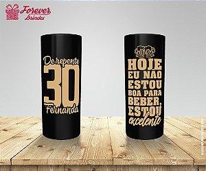 Copo Long Drink Aniversário De Repente 30