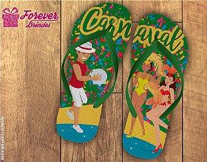 Chinelo Personalizado De Carnaval