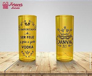 Copo Long Drink de Carnaval Vodka