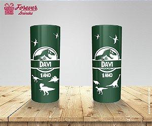 Copo Long Drink Aniversário Dinossauros