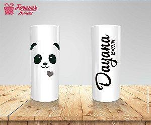 Copo Long Drink Panda Aniversário