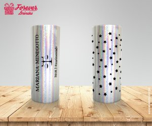 Copo Long Drink Holográfico Direito