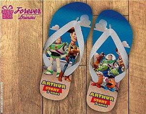 Chinelo de Aniversário Infantil do Toy Story
