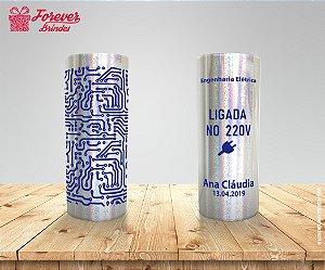 Copo Long Drink Holográfico de Engenharia Elétrica