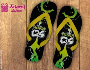 Chinelo Personalizado Do Ben 10