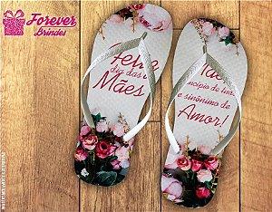 Chinelo Personalizado Dia Das Mães