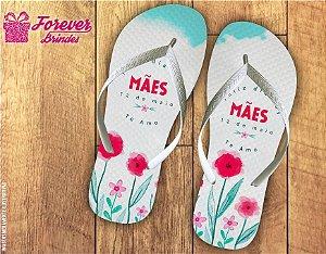 Chinelo Personalizado Feliz Dia Das Mães