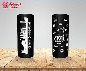 Copo Long Drink Formatura de Engenharia Civil