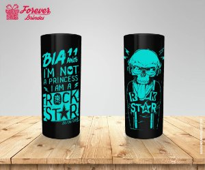 Copo Long Drink Personalizado Rock Star