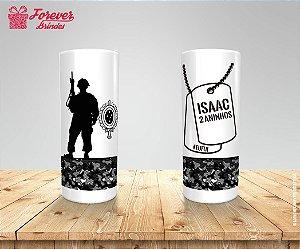 Copo Long Drink Personalizado Exército