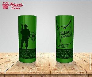 Copo Long Drink Personalizado Do Exército