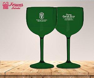 Taça Gin Verde De Medicina Veterinária