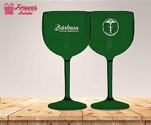 Taça Gin Verde de Estética