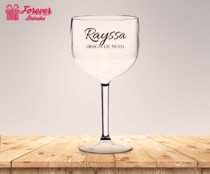 Taça Gin Formatura Design De Moda