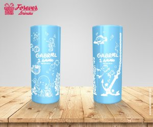 Copo Long Drink Personalizado Fundo Do Mar