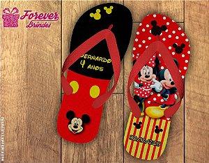 Chinelo de Aniversário Infantil Mickey