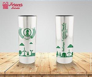 Copo Long Drink Metalizado Engenharia Ambiental