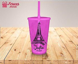 Copo Twister Aniversário Paris
