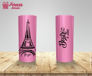 Copo Long Drink Tema Paris