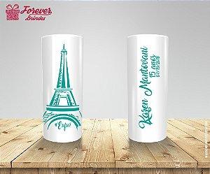 Copo Long Drink Aniversário Paris