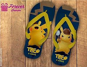 Chinelo Personalizado Pokémon Pikachu