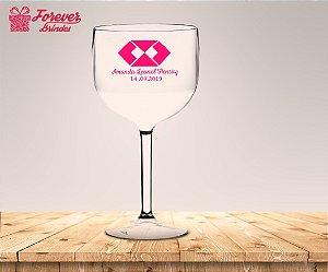 Taça Gin Personalizada De Administração Rosa