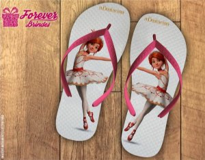 Chinelo Personalizado Bailarina