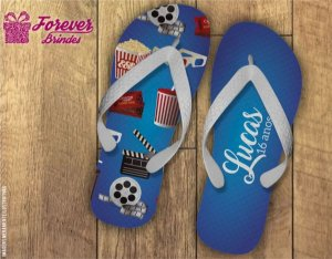 Chinelo Personalizado Cinema