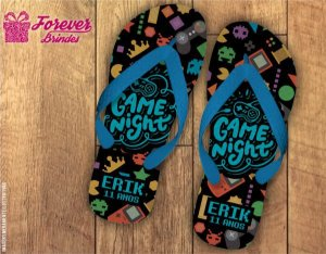Chinelo Personalizado De Vídeo Game