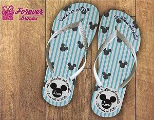 Chinelo Personalizado Do Mickey