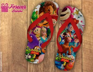 Chinelo Personalizado Do Toy Story