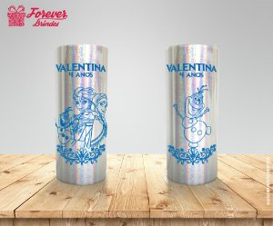 Copo Long Drink Holográfico Frozen