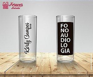 Copo Long Drink Formatura Fonoaudiologia