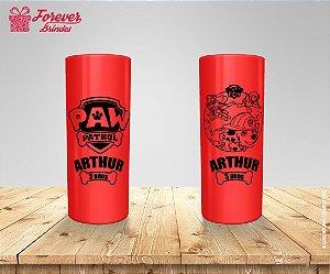 Copo Long Drink Personalizado Da Patrulha Canina