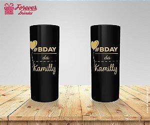 Copo Long Drink De Aniversário Personalizado 15 Anos