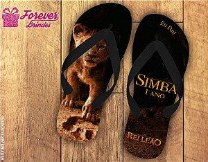 Chinelo Personalizado Do Rei Leão Simba
