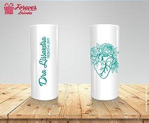 Copo Long Drink Personalizado Com Tiffany De Medicina