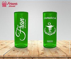 Copo Long Drink Personalizado Formatura De Farmácia