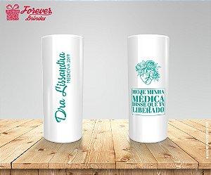 Copo Long Drink Personalizado Formatura De Medicina