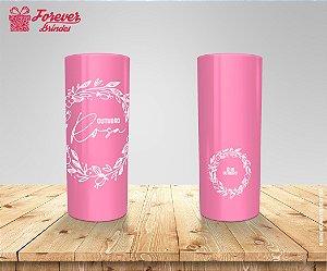 Copo Long Drink Outubro Rosa