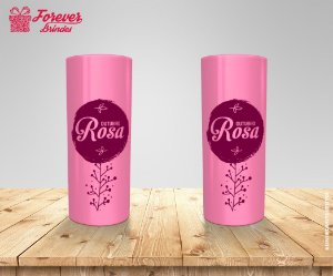 Copo Long Drink Do Outubro Rosa