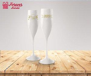Taça De Champanhe Feliz Ano Novo 2020