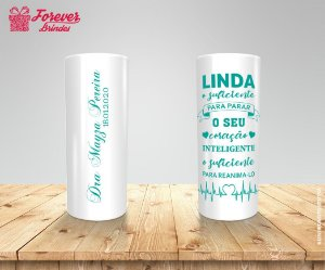 Copo Long Drink Formatura De Medicina Com Frase