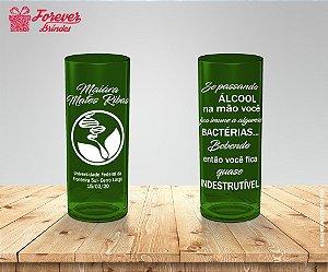 Copo Long Drink Verde De Ciências Biológicas