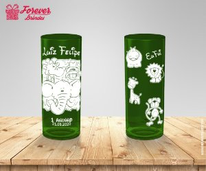 Copo Long Drink Personalizado Safari