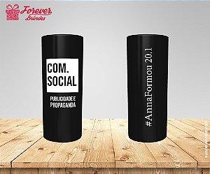 Copo Long Drink Formatura De Publicidade e Propaganda