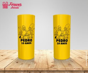 Copo Long Drink Personalizados Os Simpsons