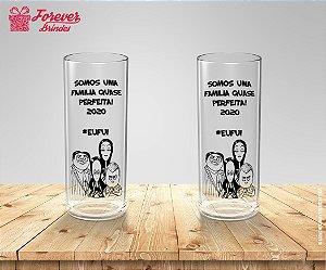 Copo Long Drink Personalizado Festa da Familia